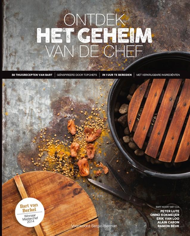 'Masterchef' Bart van Berkel lanceert eerste kookboek