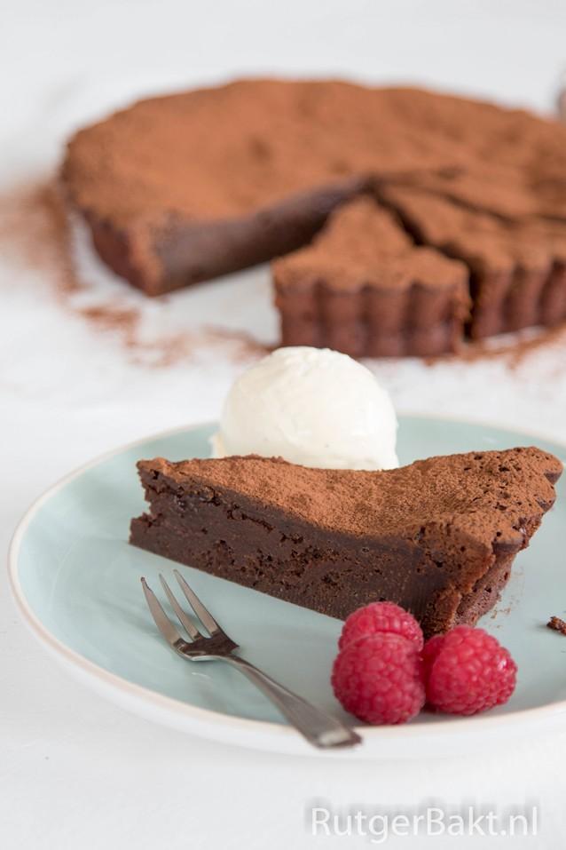 Smeuïge chocoladetaart