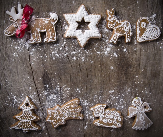 Kerst koekjes stock4
