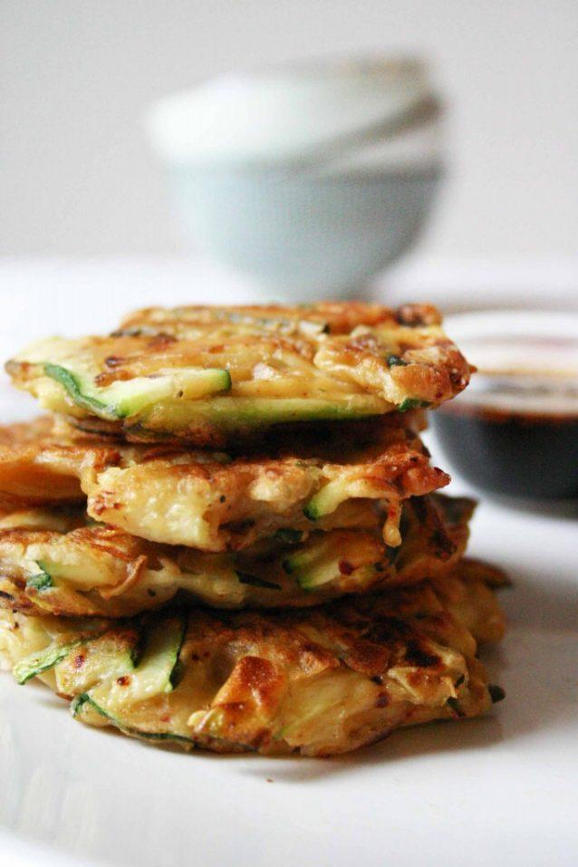 Koreaanse pannenkoekjes