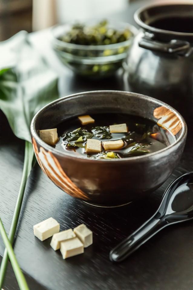 Miso soep stock