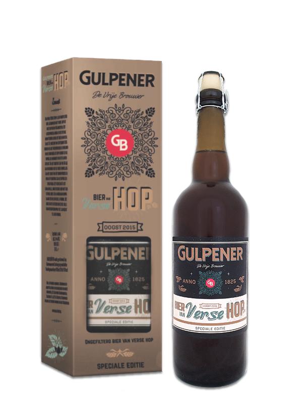 Gulpener komt met speciale editie. Bier van Verse Hop