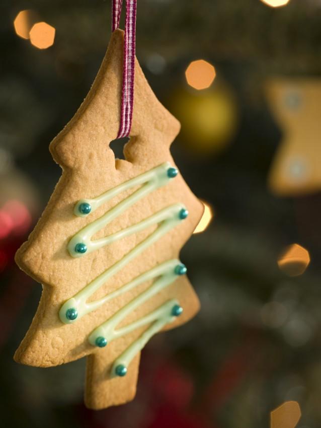 kerst koekje stock