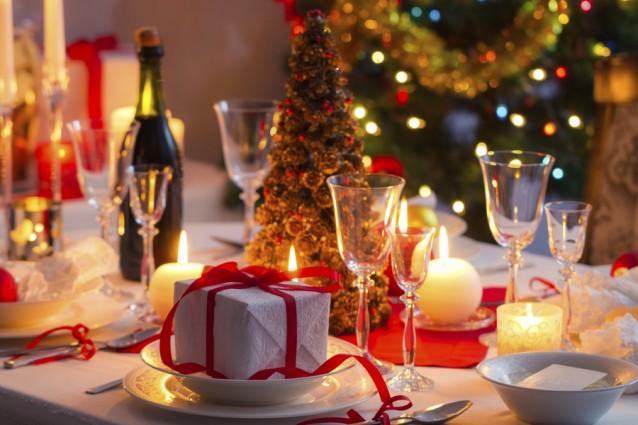 kerst tafel stok