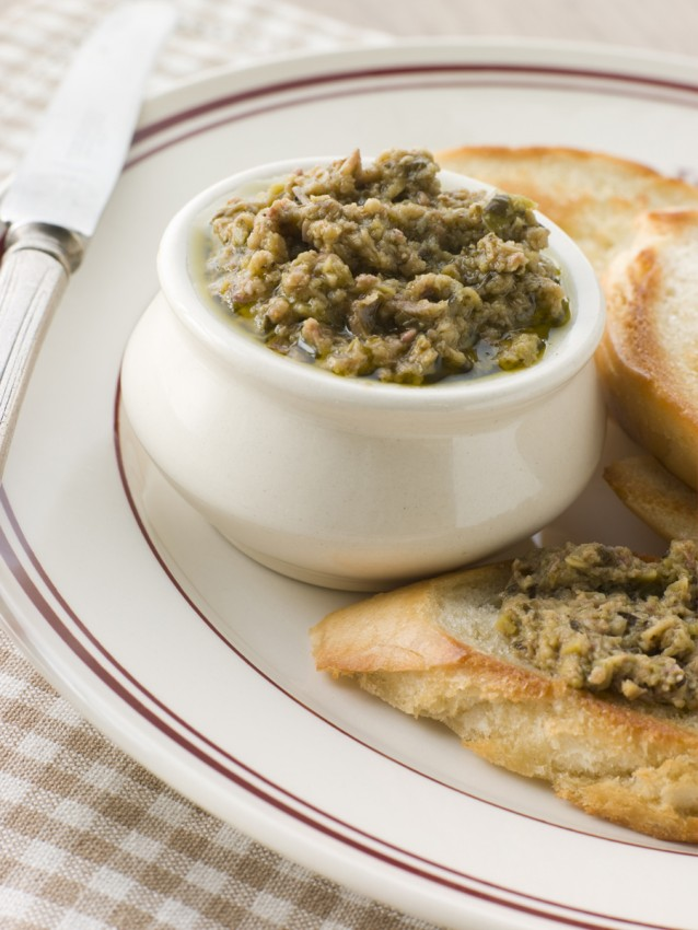 Ansjovis tapenade anchoiade stock5