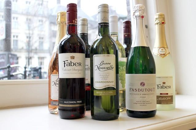 Culy test Alcoholvrije wijnen