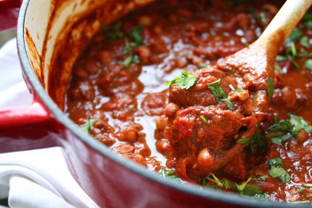 Chili con carne met chocolade