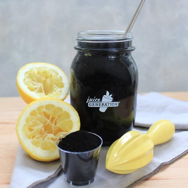 Juice Generation Actived Charcoal geactiveerde houtskool