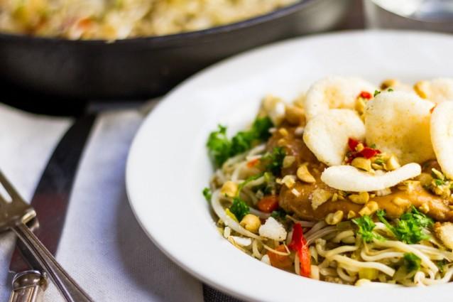 Koken met aanbiedingen vegetarische bami2
