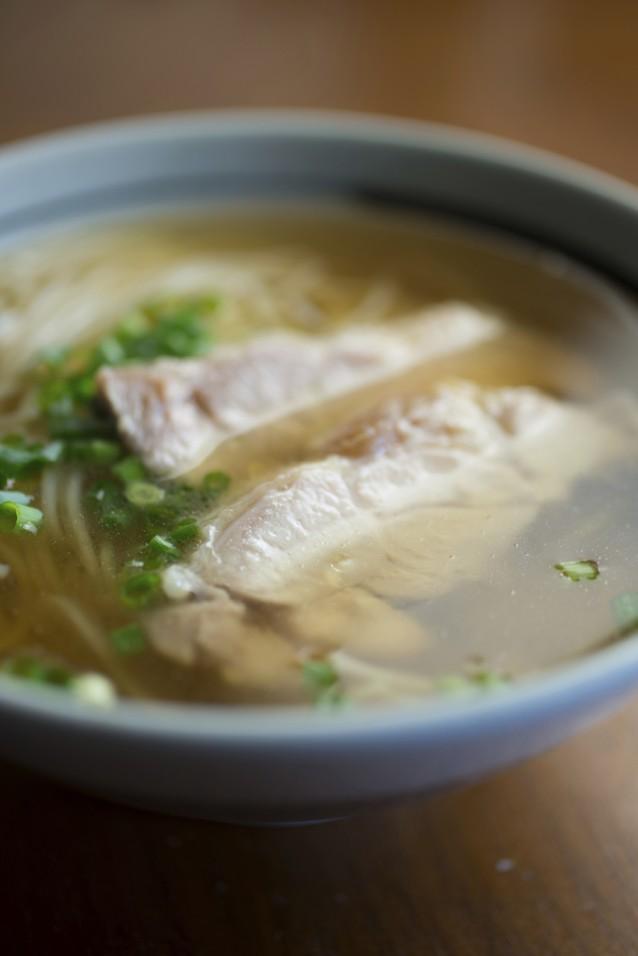 Noodle soep dashi stock