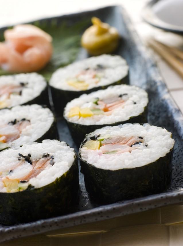 maki sushi stock
