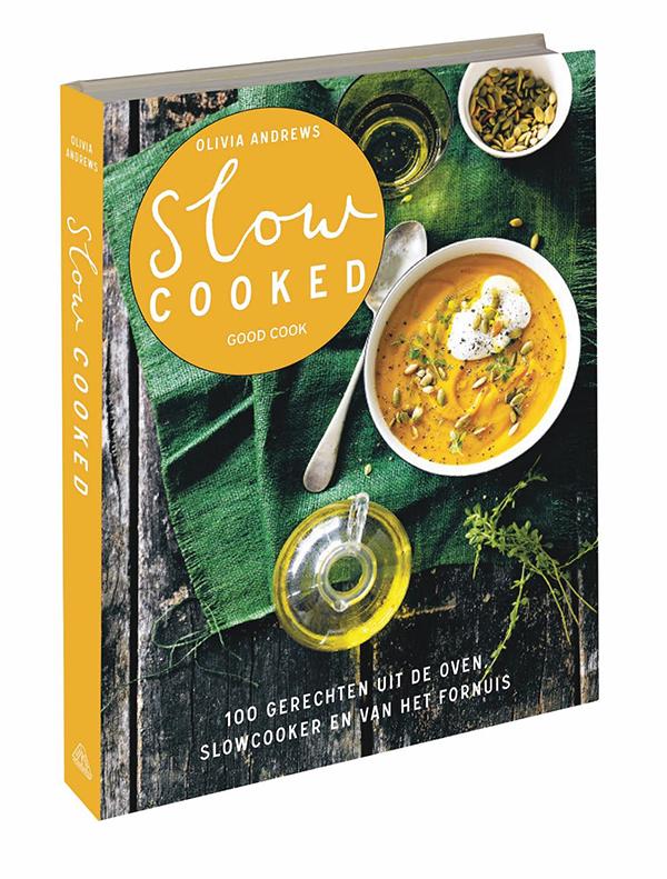 Bij Uitgeverij Good Cook verschijnt: Slow cooked uit de oven, slowcooker en van het fornuis