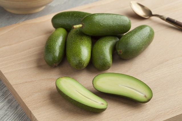 Cocktail avocado stock