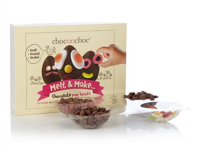 CHOCONCHOC DIY-kit voor chocolade-eitjes