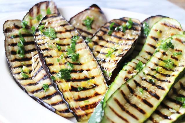 De perfecte gegrilde groenten