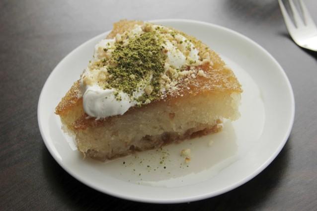 Künefe stock Turks dessert