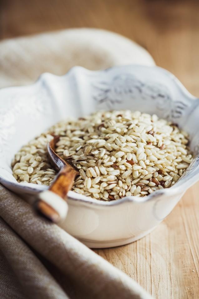Rijst stock