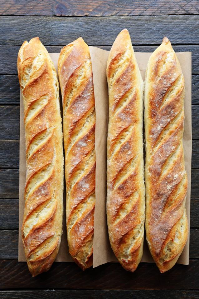 Zuurdesem stokbrood stock