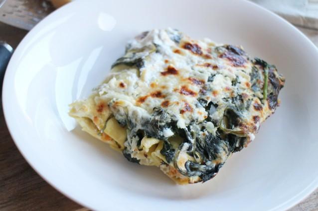 vegetarische cannelloni met spinazie, ricotta en pompoen2