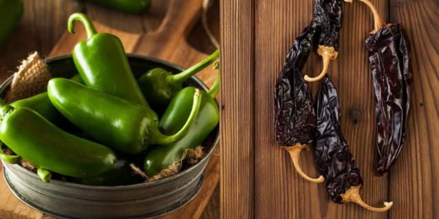 Jalepeño & chipotle pepers