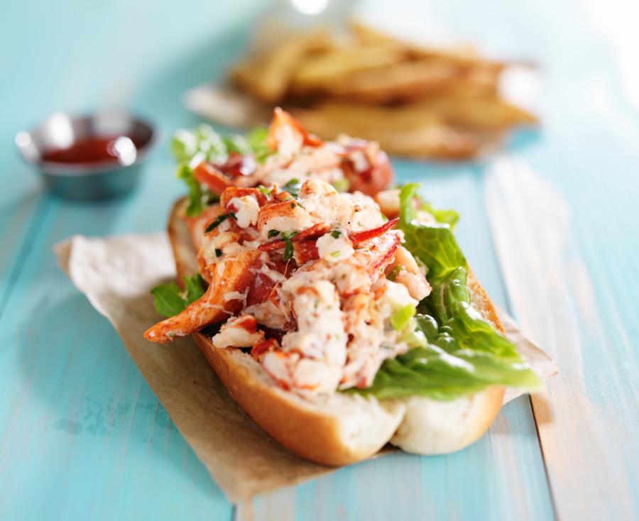 brioche lobstser roll