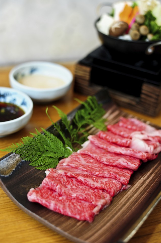 beef for shabushabu