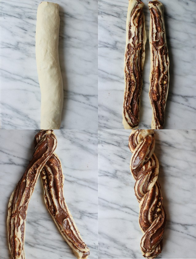 Nutella brood