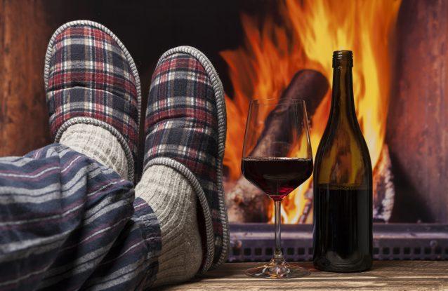 winter wijnen stock