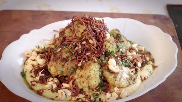 Cauliflower Steaks   Gizzi Erskine x Honestly Healthy