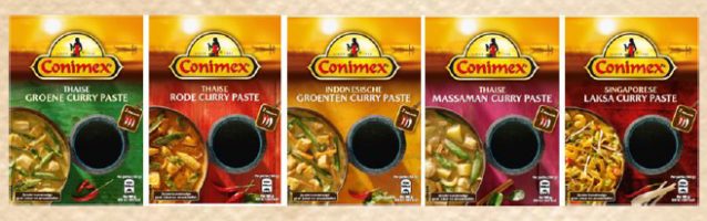 conimex currypasta