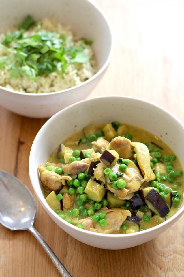 Culy Homemade Conimex kruidige groene curry met kip