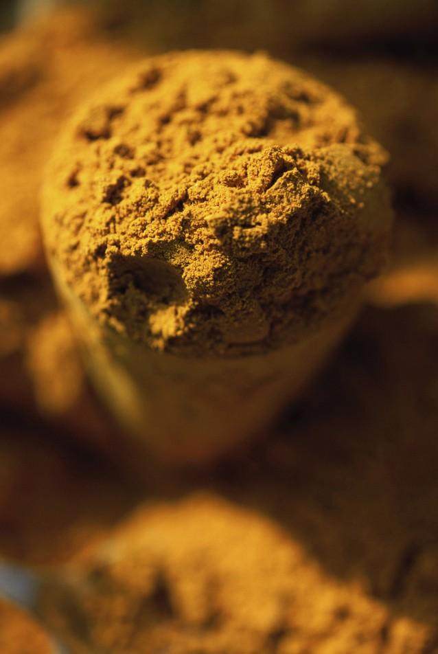 Currypoeder kerriepoeder stock