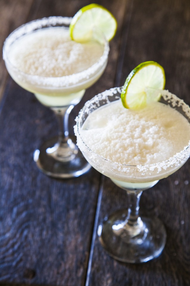 Frozen margarita stock