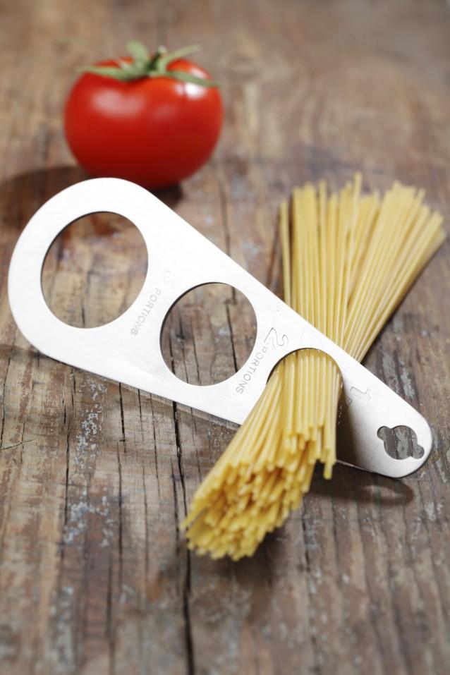 Spaghetti portioner