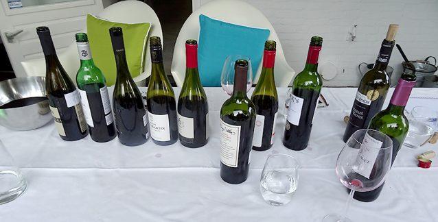 barbecue wijn