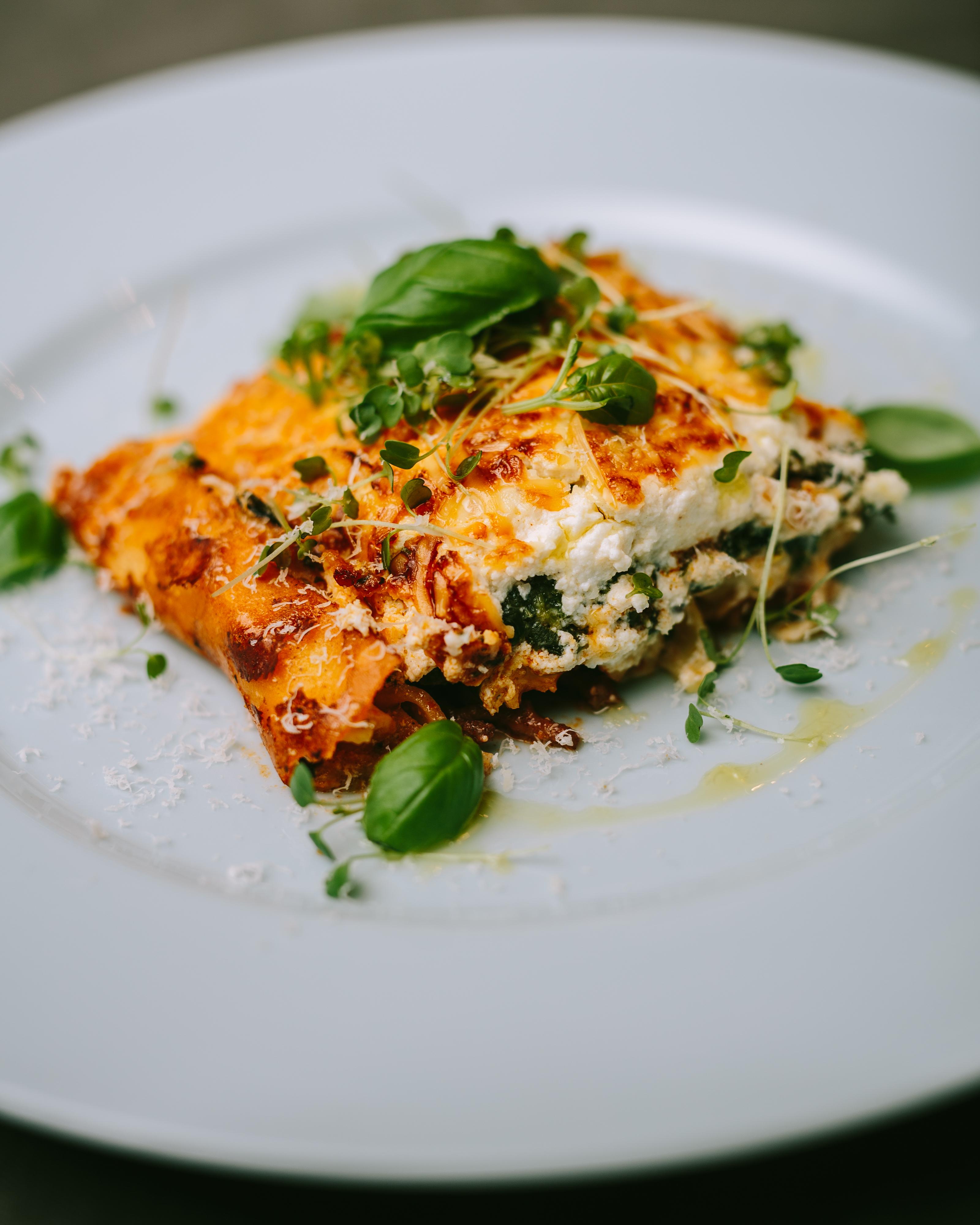 Lasagne met vier soorten kaas van Janny