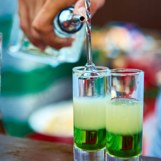 Cocktails barlepel stock
