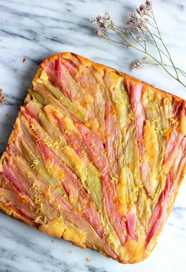Culy homemade rabarbercake