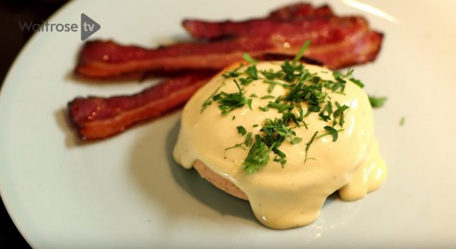 Heston blumenthal eggs benedict met bacon