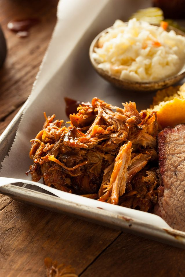 Homemade Barbecue Pulled Pork
