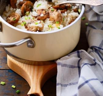 risotto restjes opwarmen