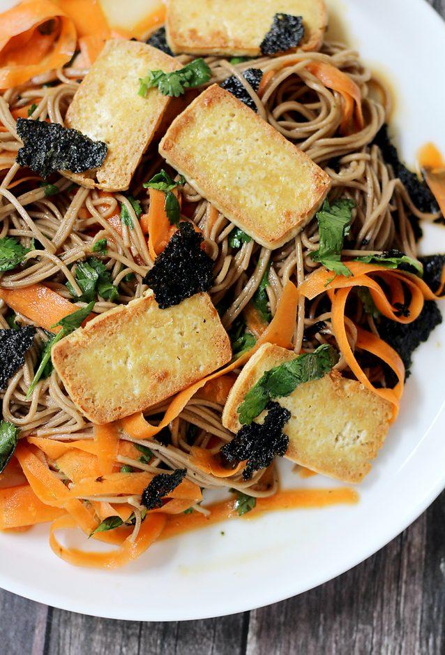 Soba noodles met tofu2