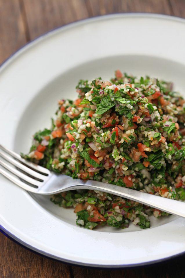 tabbouleh, tabouli, parsley salad, middle eastern cuisine