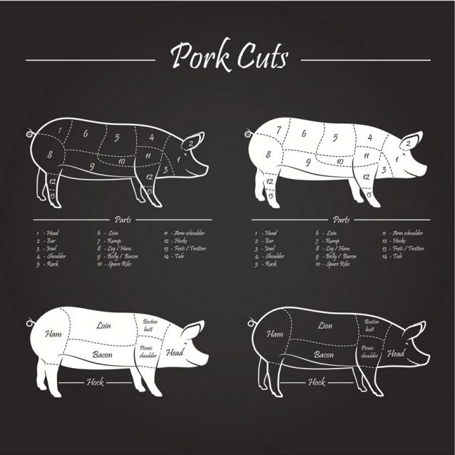 PORK MEAT CUTS SCHEME