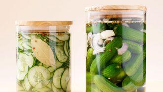 ingemaakte komkommer pickles