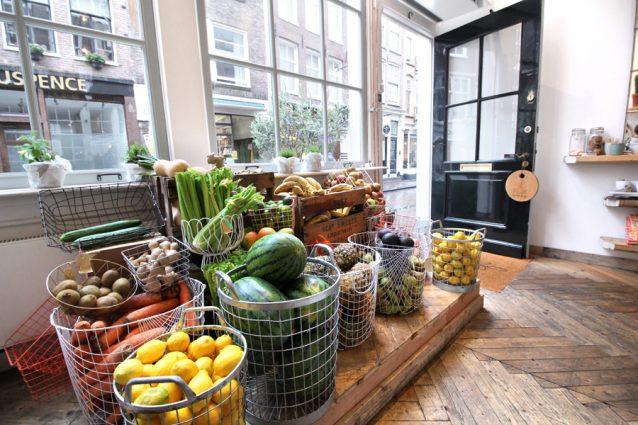 Groenten en fruit bij Pluk Amsterdam