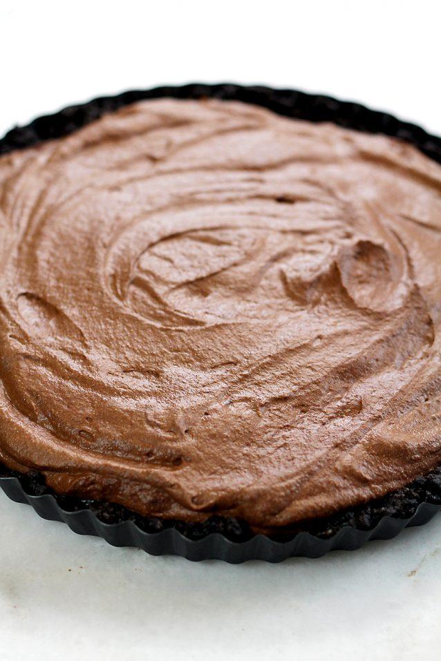 no bake chocolademoussetaart