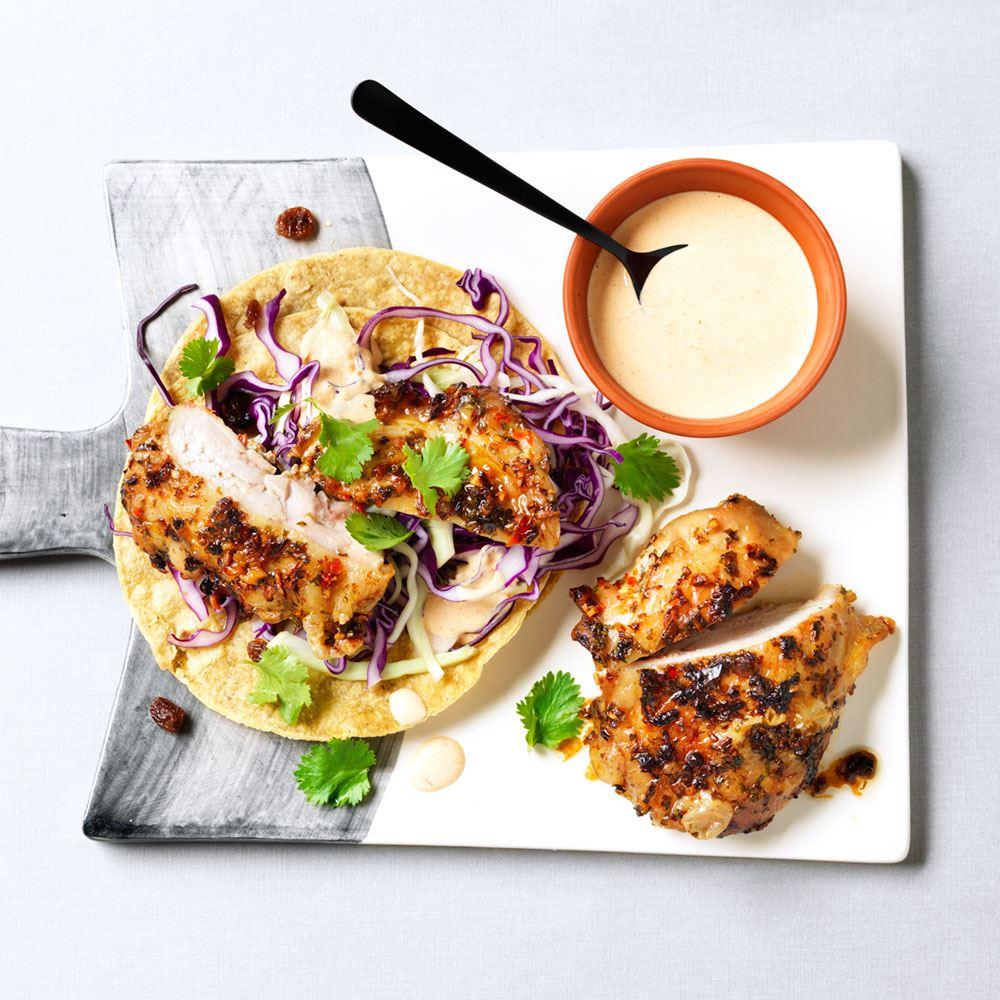 Heerlijke taco's met kip van ZTRDG