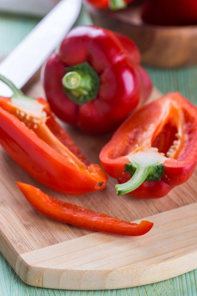 Paprika stock