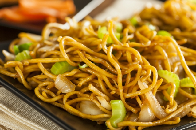 Chow mein stock